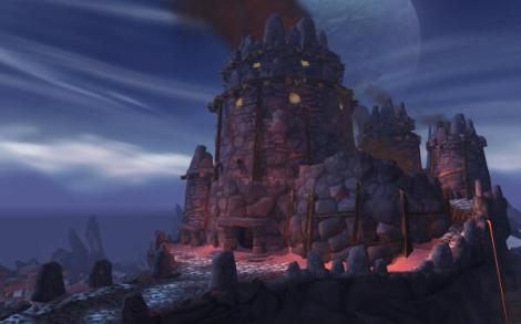 Frostfire Ridge - home to the Frostwolf Clan.