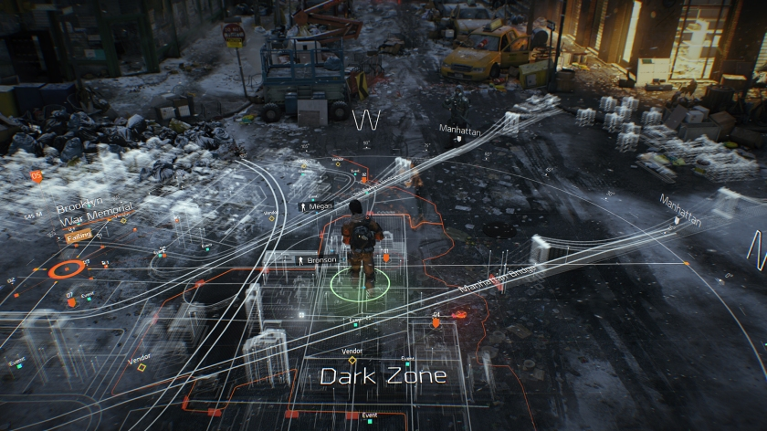 With intrinsic multiplayer elements, that map could get a whole lot more chaotic.