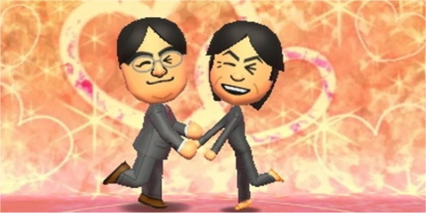 This portrayal of Nintendo's Iwata and Miyamoto is fine. Marriage, however, is not.